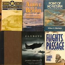 Lot of Six Military Aviation Books, Used, hc, Ww Ii, Pacific Theater, Good