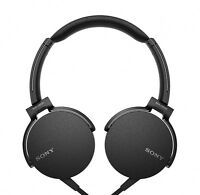 SONY MDR-XB550AP Extra Bass On-Ear Stereo Headphone MDRXB550AP Black