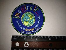 "Girl Scout 2009 Cookie Sales ""Imagine If"" Patches - Brand New - Qty 1"