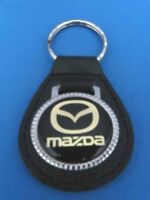 FORD MUSTANG AUTO LEATHER KEYCHAIN KEY CHAIN RING FOB #266