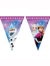 7.5ft x Disney congelato Northern Lights Festa di Compleanno Decorazione Bandiera Bunting