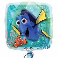 45.7cm Disney Pixar's Finding Dory Nemo Children's Party Square Foil Balloon