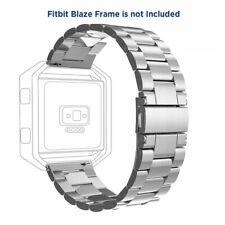 Band For Fitbit Blaze Smart Watch Genuine Stainless Steel Bracelet Strap Watch