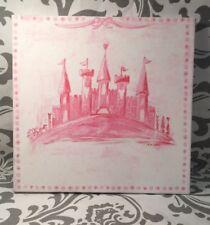 "Oopsy Daisy Too Princess Castle Throne Canvas Wall Art--10""x10"""