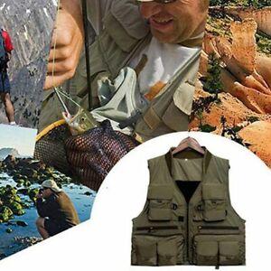 Korean Fishing Vest Quick Dry Breathable Fish Jacket Photography Vests Waistcoat