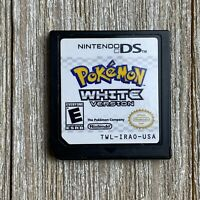 Pokemon White Version (Nintendo DS, 2011) Game Only, No Case [TESTED]