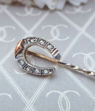 Natural Diamond Rose Gold Fine Brooches & Pins