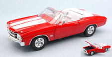 Chevrolet Chevelle SS 454 1971 Red W/ White Stripes 1:24 Model 2089R WELLY