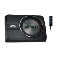 "JVC CW-DRA8 8"" 250W Compact/Slim/Under Seat Powered Car Audio Subwoofer System"