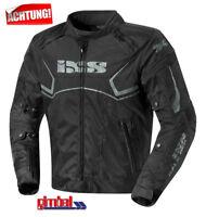 """IXS Motorradjacke Textiljacke """"ACTIVO"""" schwarz - 1-A TOP Qualität"""