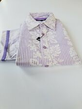 INTERNATIONAL LAUNDRY 100% COTTON SHIRTS MADE IN TURKEY SLEEVES 9/10 SLIM FIT