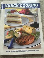 Taste Of Home's 2006 Quick Cooking Annual Recipes Hard Cover Easy Tasty