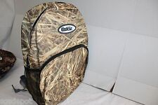 Tan Straw Camo Backpack ESKY Brand 4 Pocket Hiking School Bag Style Mesh Pocket