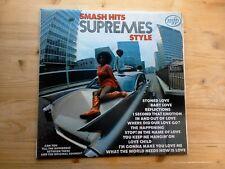 The Supremes Smash Hits Supreme Style Excellent Vinyl LP Record MFP 51
