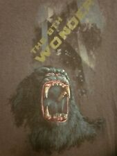 KING KONG med T shirt 2005 film Peter Jackson tee Eighth Wonder World distressed