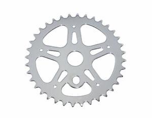Bicycle Lowrider Steel Chainring CW-316 1/2 X 1/8 36t Chrome Chopper BMX 137068