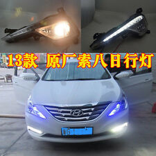 Daytime Running Lights DRL LED Fog Lamp for Hyundai Sonata i45 YF 2013+