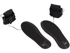 2x Beheizte Schuhsohlen beheizbare Schuh Einlegesohlen Einlagen Thermosohlen Set