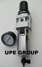 38 Compressed Air Filter Amp Regulator Combo Particulate Moisture Trap