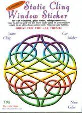Celtic Knot Static Cling Window Sticker