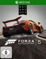 Forza Motorsport 5 Day One Edition Microsoft Xbox One DVD-Box *NEU & OVP* XBONE