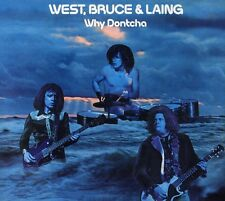 West, Bruce & Laing, West Bruce & Laing - Why Dontcha [New CD] Germany - Import
