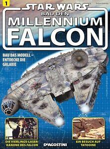 Deagostini millennium falcon Komplett