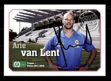 Ari van Lent Autogrammkarte Kickers Offenbach 2011-12 Original Sign+ A 148365