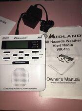 Midland Wr-100 Noaa Weather Alert Radio