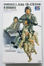 TRUMPETER® 00415 Modern US Army CH-47D Crew & Infantry Figuren in 1:35