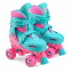 Xootz Quad Skates Pink Size Medium 13-3 Junior Fun Kids Outdoor Toy Gift