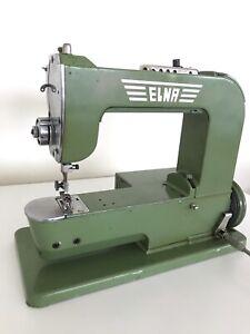 "Elna no.1 Grasshopper sewing machine. TAVARO S.A.  ""ELNA"" #1 working well. 1951."