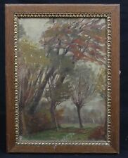 Georges DEBUCHE (XIX/XX) paysage impressionniste :vue présumée du Pas-de-Calais