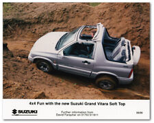 Suzuki Grand Vitara Soft Top. Press Release Photo. June 1999