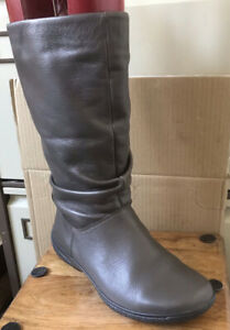 Ladies HOTTER 'Mystery' Leather Boots - Size 4.5 (37.5)