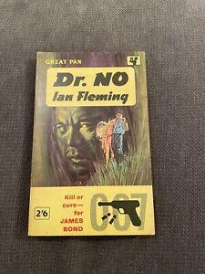 James Bond Dr No Pan Books 1961 4th Edition