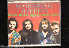 SOMETHING HAPPENS - HELLO HELLO HELLO HELLO HELLO (PETROL (3 track UK CD single)