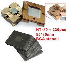 230 pcs Stencil + BGA Chips Repairs Kit fast locking Reballing Station BGA jig