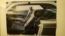 MERCEDES BENZ W126 S Class C126 SEC Coupe Interior 59cm x 84cm Poster