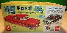 VINTAGE AMT 1949 FORD CLUB COUPE T149 MODEL CAR MOUNTAIN