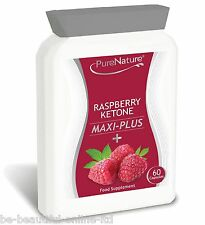 60 RASPBERRY KETONES Maxi ACAI BERRY MANGO GREEN TEA SLIM DIET FAT BURN PILLS