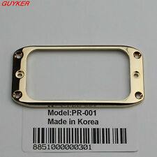1 pcs Guitar Humbucker Pickup Gold Frame Mounting Ring Tricolor optional