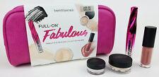 BareMinerals Full On Fabulous Mascara Lip Gloss Mineral Veil Eyecolor $58 NEW