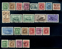 Canada #249-267,278-281 used VF 1942/1948 King George VI War Issue Set & Coils