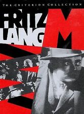 """Fritz Lang's  """"M""""   :  The Criterion Collection  BRAND NEW"""