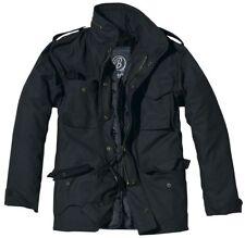 Brandit Giacca Giubbotto giaccone Parka Uomo Vintage M 65 Classic Jacket S Black