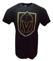 '47 Vegas Golden Knights NHL Hockey NHL Jet Black Super Rival Men's T-Shirt