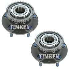 Pair Set 2 Rear Timken Wheel Bearing And Hub Kits for Ford Windstar 97-03 FWD