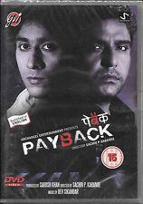 PAY BACK - MUNISH KHAN , SARA KHAN -NEW BOLLYWOOD DVD - FREE UK POST