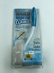 NEW As Seen On TV Hard Water Wand Perfect For Porcelain Tubs Sinks Toilets